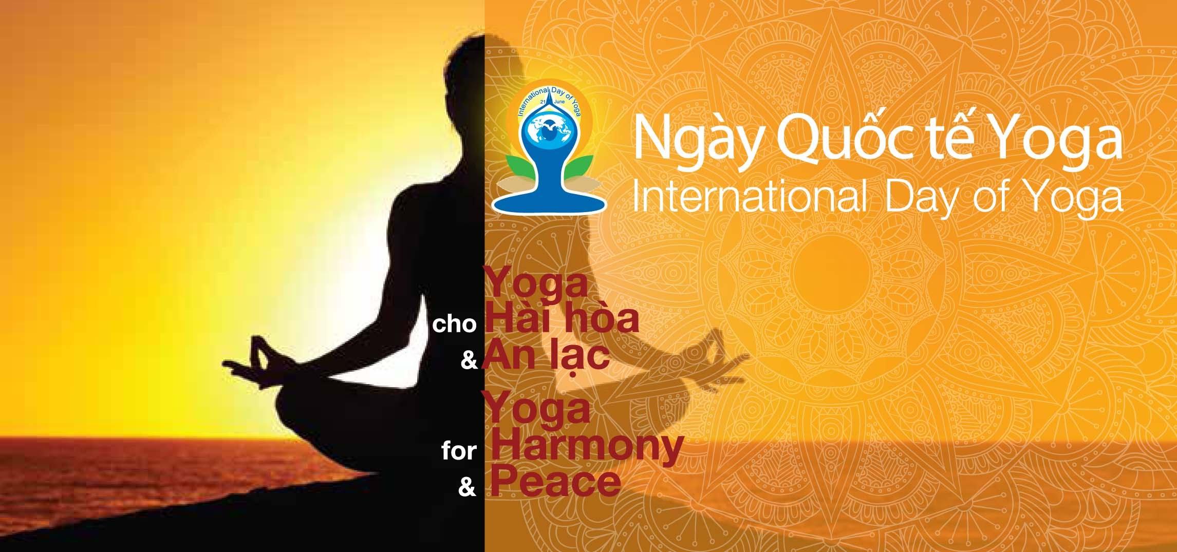 Ngày Quốc tế Yoga lan tỏa văn hóa - triết lý Ấn Độ  đến với Việt Nam (Bạn bè với Việt Nam ngày 15/6/2015)