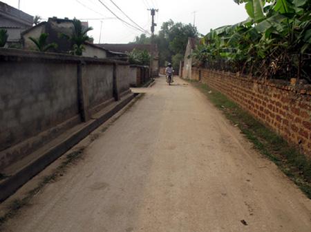 Sáng tạo trong xây dựng nông thôn mới ở tỉnh Vĩnh Phúc. (Nông nghiệp và nông thôn ngày 9/6/2015)