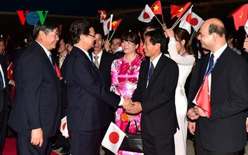 Thời sự đêm ngày 2/7/2015: Thủ tướng Nguyễn Tấn Dũng cùng Đoàn đại biểu cấp cao Việt Nam đã tới Tokyo (Nhật Bản) để tham dự Hội nghị cấp cao Mê Kông - Nhật bản lần thứ 7.