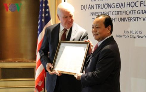 Hợp tác giáo dục: Dấu ấn nổi bật trong quan hệ Việt-Mỹ. (Bạn bè với Việt Nam ngày 27/7/2015)