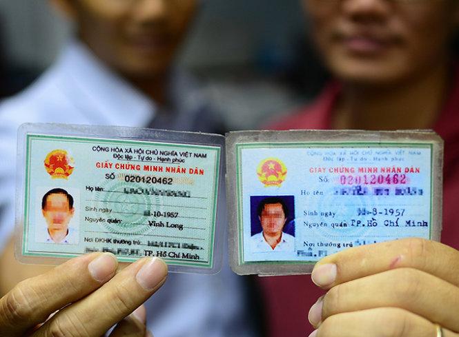 Công an thành phố Hồ Chí Minh xin lỗi và cấp lại chứng minh nhân dân cho hơn 7 nghìn trường hợp bị cấp trùng