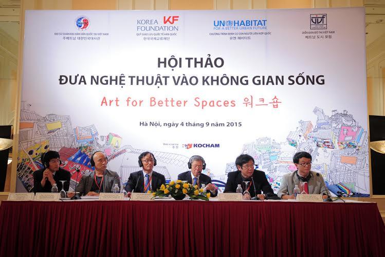 Hàn Quốc hỗ trợ đưa nghệ thuật vào không gian sống tại Việt Nam