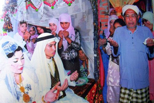 Đám cưới của đồng bào dân tộc