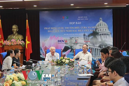 """Công bố kết quả cuộc thi """"Việt Nam-Cuba: đoàn kết cùng phát triển"""""""