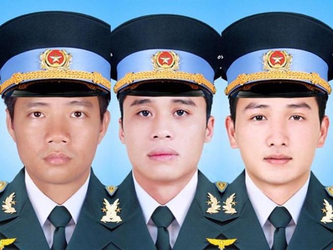 Truy thăng quân hàm đối với 3 phi công tử  nạn trong vụ máy bay rơi tại Bà Rịa Vũng Tàu (Thời sự đêm 19/10/2016)