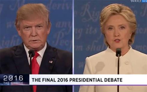Bầu cử Mỹ 2016: Khép màn tranh luận để bước vào chặng quyết định (20/10/2016)