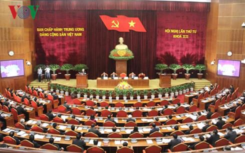 Hôm nay, Hội nghị lần thứ tư Ban Chấp hành Trung ương Đảng khoá 12 tiếp tục thảo luận về nội dung