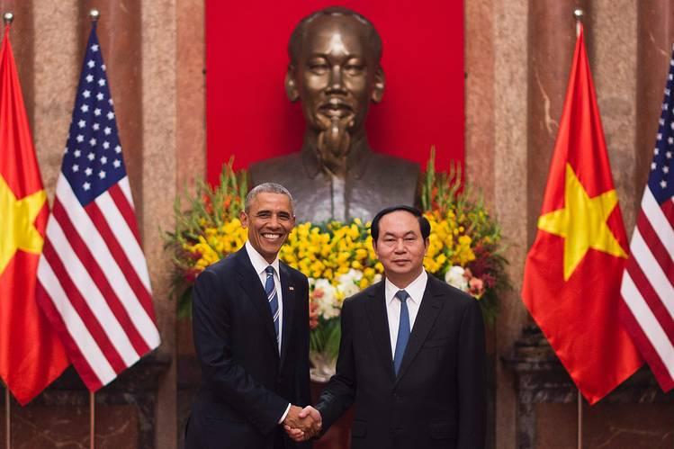 Những bước tiến mới trong quan hệ Việt Nam - Hoa Kỳ. (25/5/2016)