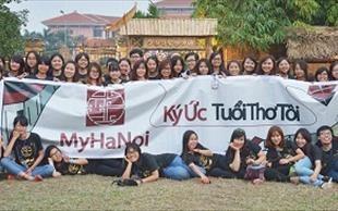 Nguyễn Mai Anh - Câu lạc bộ MyHanoi với khát vọng duy trì, tiếp nối văn hóa của những người trẻ. (01/6/2016)
