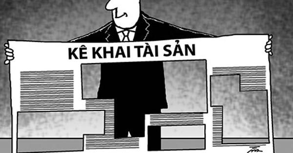 Kiểm soát kê khai tài sản, cần một cơ quan đủ thẩm quyền. (15/7/2016)