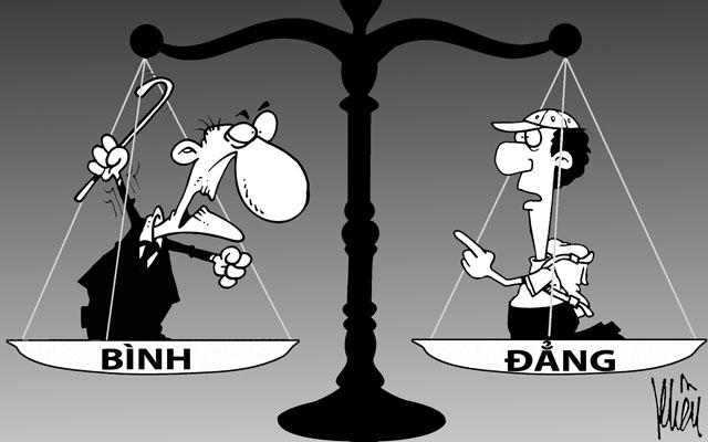 Dân hay quan đều phải bình đẳng trước pháp luật (19/9/2016)