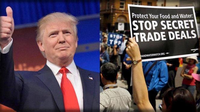 Tác động khi Mỹ rút khỏi Hiệp định Đối tác xuyên Thái Bình Dương (31/01/2017)