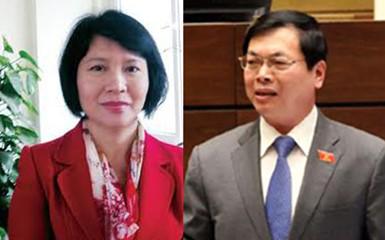 Thủ tướng Chính phủ ký các quyết định thi hành kỷ luật đối với ông Vũ Huy Hoàng, nguyên Bộ trưởng Bộ Công thương và bà Hồ Thị Kim Thoa, Thứ trưởng Bộ Công thương (24/1/2017)