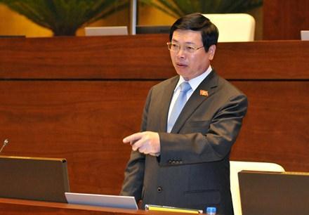 Ủy ban Thường vụ Quốc hội vừa ra Nghị quyết xử lý kỷ luật đối với ông Vũ Huy Hoàng (Thời sự đêm 23/01/2017)