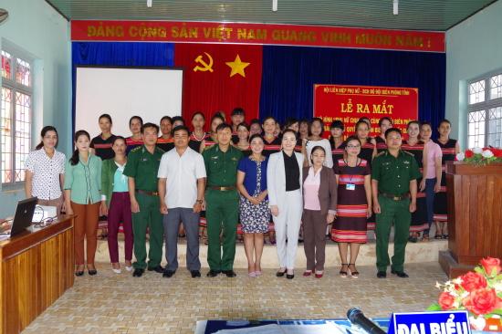 Phụ nữ Kon Tum chung tay bảo vệ chủ quyền an ninh biên giới (19/10/2017)