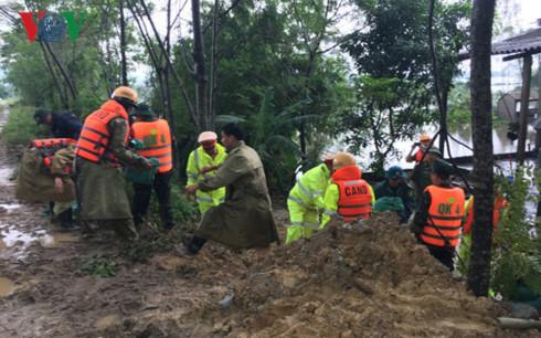 Nam Trung Bộ chủ động ứng phó với mưa lớn (2/11/2017)