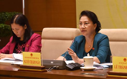 Chủ tịch Quốc hội Nguyễn Thị Kim Ngân ủng hộ bổ sung hình thức tố cáo qua thư điện tử, điện thoại (Thời sự chiều 8/11/2017)