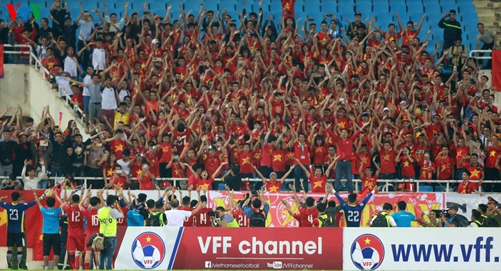 Đội tuyển Việt Nam giành vé dự Vòng chung kết Asian Cup (19/11/2017)