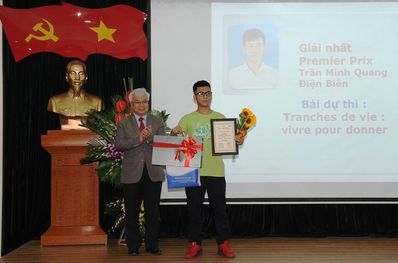 Cuộc thi phóng viên trẻ Pháp ngữ - Việt Nam 2017: Thúc đẩy đa dạng văn hóa trong cộng đồng Pháp ngữ (05/11/2017)