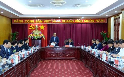 Thủ tướng Nguyễn Xuân Phúc đề nghị: Tỉnh  Bắc Kạn phải giàu từ ý chí để vươn lên trong xây dựng và phát triển kinh tế (Thời sự chiều 19/11/2017)
