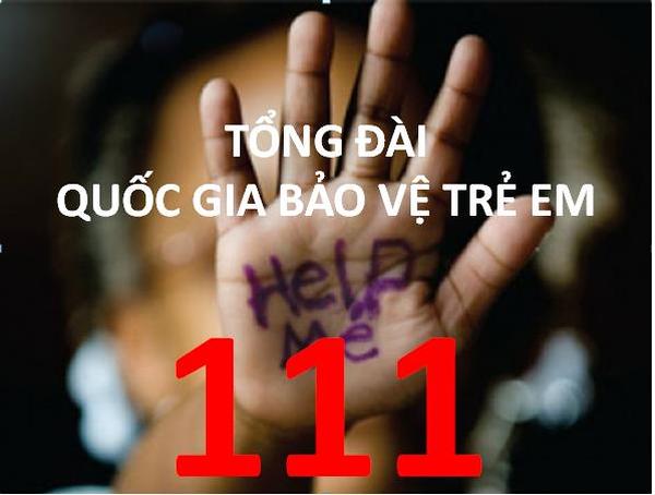 Công bố tổng đài điện thoại quốc gia bảo vệ trẻ em 111  (07/12/2017)