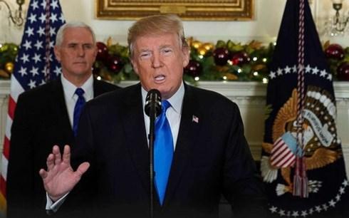 Thế giới chấn động trước việc Tổng thống Mỹ chính thức công nhận Jerusalem là thủ đô của Israel (7/12/2017)