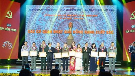 Tổng Bí thư Nguyễn Phú Trọng dự lễ công bố và trao giải báo chí toàn quốc về xây dựng Đảng lần thứ nhất (03/02/2017)