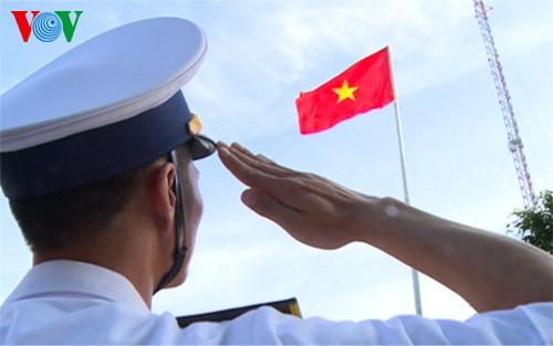 Lời thề trên biển của những người lính hải quân (19/3/2017)