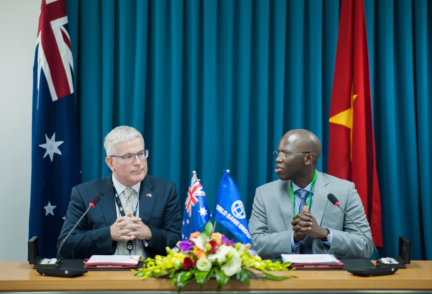 Australia và Ngân hàng Thế giới hợp tác hỗ trợ chương trình phát triển của Việt Nam (17/4/2017)