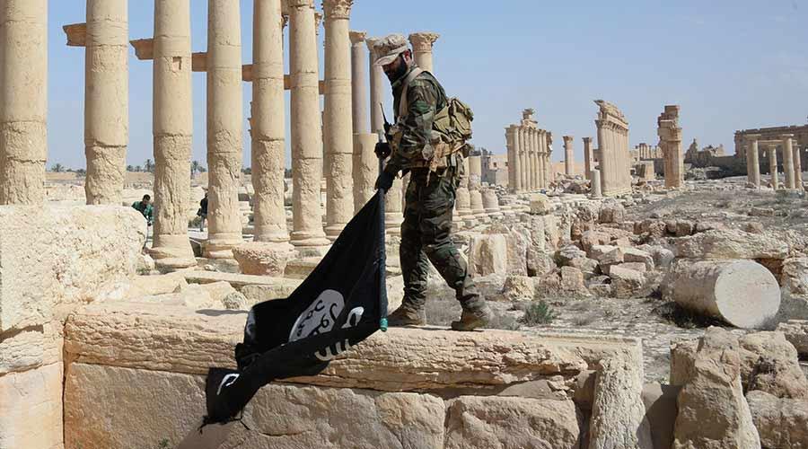 Di sản thế giới Palmyra, Syria bị tàn phá nghiêm trọng dưới bàn tay Tổ chức Nhà nước Hồi giáo tự xưng IS (16/4/2017)
