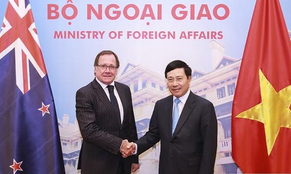 Việt Nam- New Zealand tìm cách thức hợp tác mới cho Hiệp định TPP (1/5/2017)