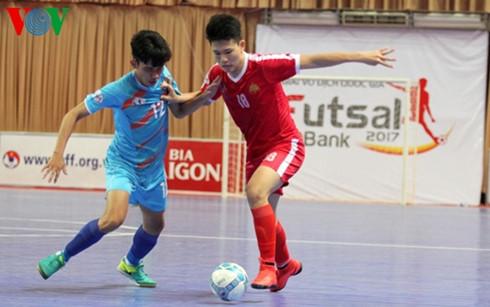 Kết thúc lượt đi Vòng Chung kết giải Futsal Vô địch Quốc gia HDBank 2017 (23/4/2017)