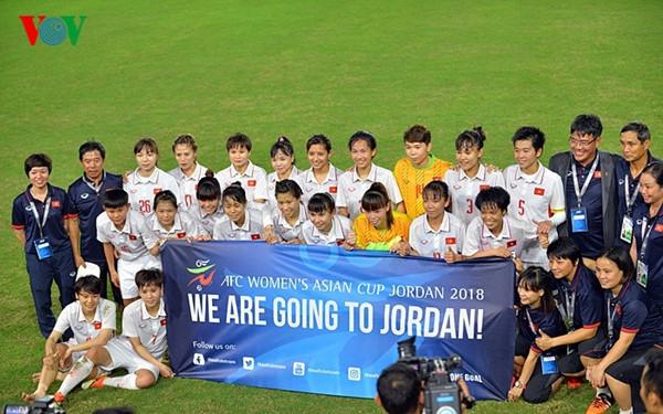 Bóng đá nữ Việt Nam giành vé tham dự đấu trường châu lục: Tiếp tục theo đuổi mục tiêu đến World Cup (16/4/2017)