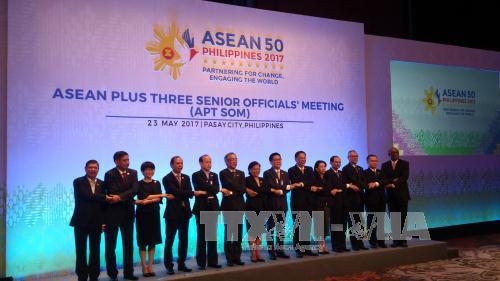Hội nghị Quan chức Cao cấp Diễn đàn Khu vực ASEAN - Diễn đàn  thúc đẩy đối thoại, hợp tác và xây dựng lòng tin ở khu vực (31/5/2017)