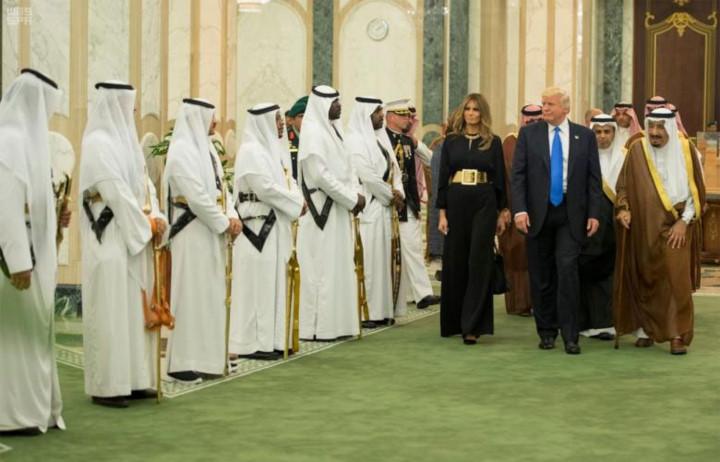 """Tổng thống Mỹ Donald Trump """"kiến tạo"""" một Trung Đông mới (22/5/2017)"""