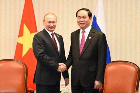 Tăng cường hợp tác đưa quan hệ Việt Nam-Liên bang Nga phát triển bền vững, hiệu quả (28/6/2017)