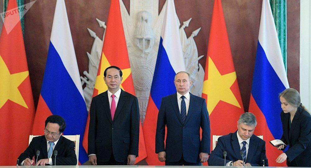 Thúc đẩy hợp tác kinh tế - thương mại Việt Nam - Liên bang Nga (3/7/2017)