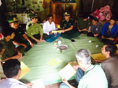 Bộ đội biên phòng chung sức, đồng lòng vì sự bình yên nơi vùng biên giới (18/7/2017)