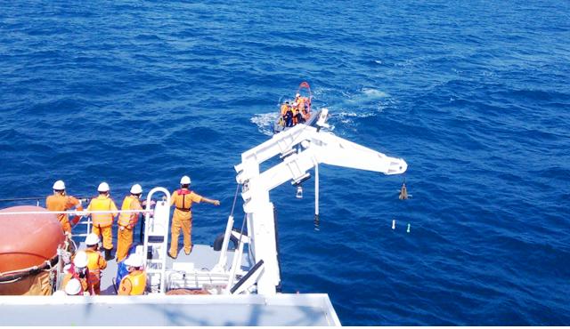 Lòng yêu nghề trong mỗi thủy thủ tàu cứu nạn (26/8/2017)