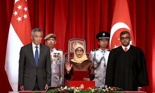 Nữ Tổng thống đầu tiên của Singapore tuyên thệ nhậm chức (Thời sự đêm 14/9/2017)