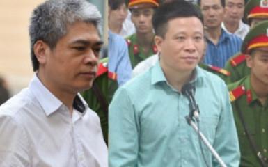 Tòa án nhân dân thành phố Hà Nội tuyên án 51 bị cáo trong vụ đại án xảy ra tại ngân hàng thương mại cổ phần Đại Dương, trong đó Hà Văn Thắm, nguyên Chủ tịch Hội đồng Quản trị OceanBank tù chung thân. Nguyễn Xuân Sơn, nguyên Tổng giám đốc Oceanbank bị tuyên án tử hình (Thời sự trưa 29/9/2017)