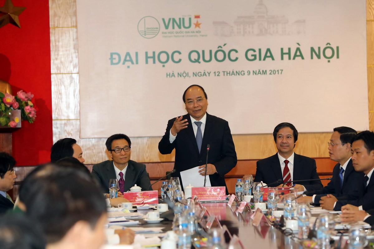 Thủ tướng Nguyễn Xuân Phúc chỉ đạo tập trung vốn để giải phóng mặt bằng cho Đại học Quốc gia Hà Nội tại Hòa Lạc  (Thời sự chiều 12/9/2017)