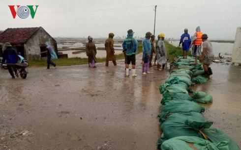 Các địa phương sẵn sàng ứng phó với những ảnh hưởng của hoàn lưu bão số 10 (16/9/2017)
