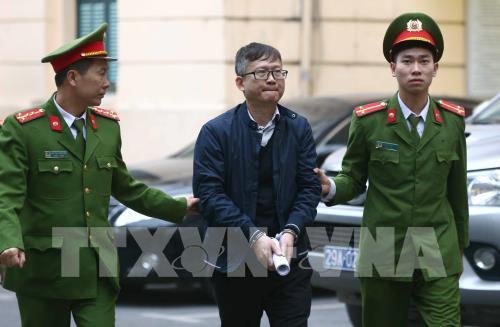 Mở phiên tòa xét xử sơ vụ án tham ô tài sản xảy ra ở PVP Land đối với bị cáo Trịnh Xuân Thanh và em trai ông Đinh La Thăng  (Thời sự trưa 24/01/2018)