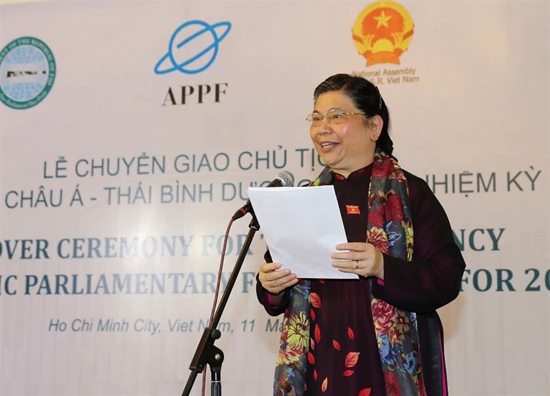 Hội nghị thường niên lần thứ 26 Diễn đàn Nghị viện Châu Á -Thái Bình Dương  (09/01/2018)