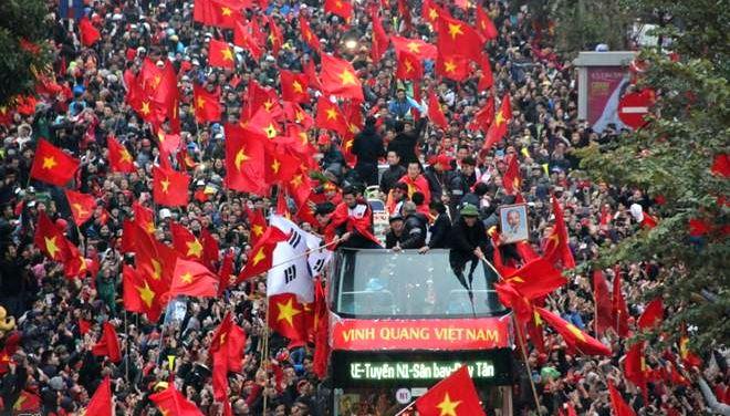 Chưa bao giờ, trong lịch sử bóng đã thế giới, một đội bóng Á quân lại được chào đón hơn cả đội vô địch như đội tuyển U23 Việt Nam (29/1/2018)