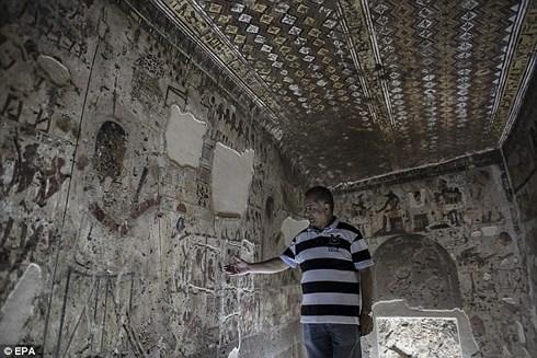 Ai Cập mở cửa lăng mộ cổ hơn 4.000 năm đón du khách tham quan (8/10/2018)