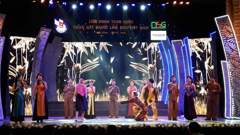Chung kết Liên hoan Toàn quốc Tiếng hát Người làm báo lần thứ 6, 2018 (Thời sự đêm 27/10/2018)
