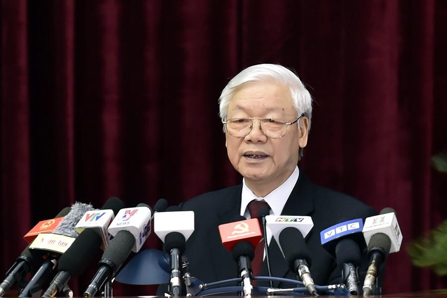Bài phát biểu bế mạc Hội nghị lần thứ 8 Ban chấp hành Trung ương Đảng khóa 12 của Tổng Bí thư Nguyễn Phú Trọng (Thời sự đêm 6/10/2018)