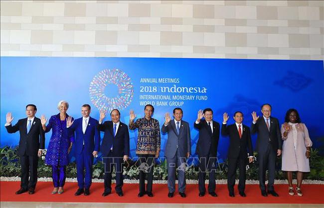 Thủ tướng Nguyễn Xuân Phúc tham dự Hội nghị thường niên Quỹ tiền tệ Quốc tế và Ngân hàng Thế giới (Thời sự đêm 12/10/2018)